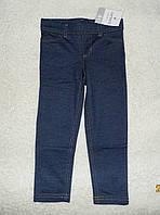 Леггинсы под джинс девочке размер 4года Carters детские лосины