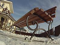 Скамейки длина 100 см,без перил, балок 9