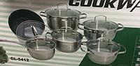 Набор посуды  Green Life GL -5412 (12 предметов)
