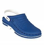 WOCK Clog 03 + Strap White Blue Специализированная обувь, с повышенной устойчивостью., фото 2