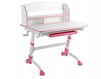 Детский стол-трансформер FunDesk Volare II Pink+лампа FunDesk L4