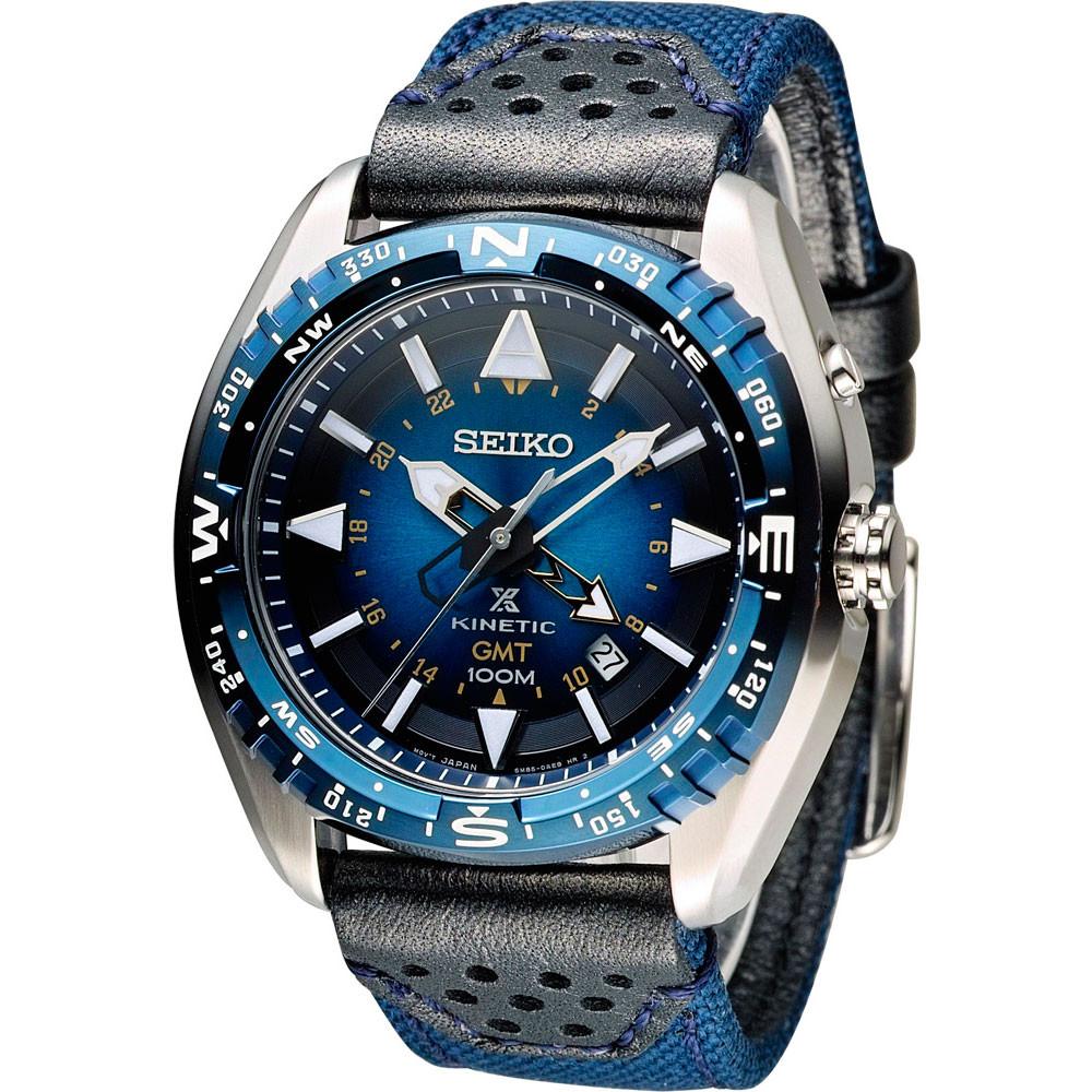 Часы Seiko SUN059P1 Prospex Kinetic Landmaster