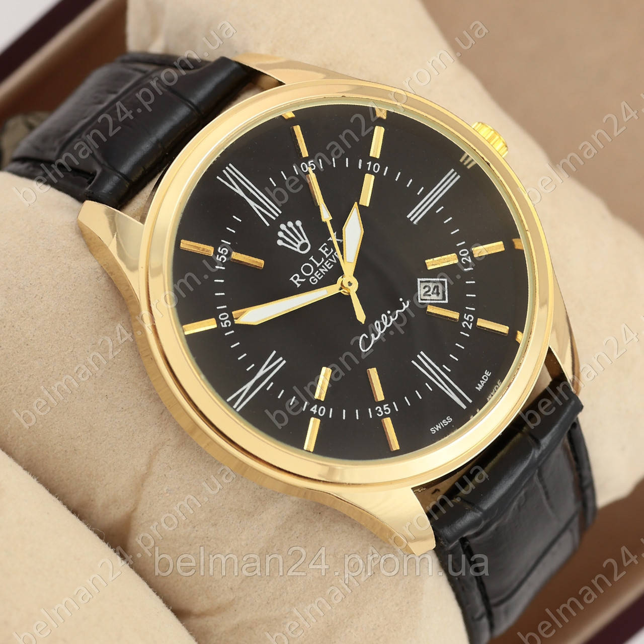 c16fb4be7225 Мужские наручные часы Rolex Black Gold Black  продажа, цена в ...