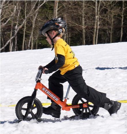 лыжи для беговела Strider Snow Skis