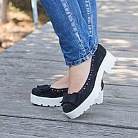 Туфли на платформе женские
