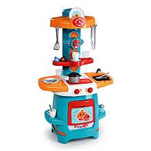"""Игровой набор «Smoby» (310705) моя первая кухня """"Cooky"""" с раскладной столешницей, 22 предмета"""