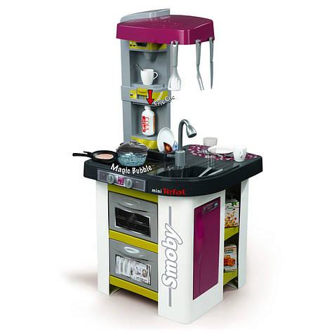 """Игровой набор «Smoby» (311006) интерактивная кухня """"Tefal Studio"""" с эффектом кипения, 22 предмета, фото 2"""