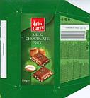 Молочный шоколад с дробленым фундуком Fin Carre, 100 гр, фото 4