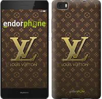 """Чехол на Huawei Ascend P8 Lite Louis Vuitton 2 """"455u-126"""""""