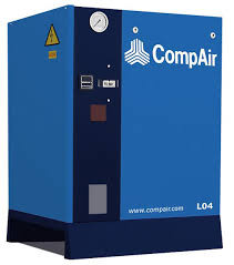 Винтовой маслозаполненный компрессор CompAir L04-10 4кВт