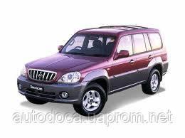 Защита картера двигателя Hyundai Terracan  2001-