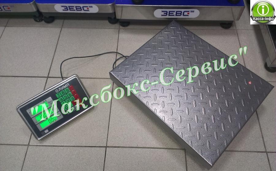 Весы торговые напольные 300 кг Олимп-B102