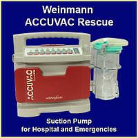 Портативный медицинский отсос с электроприводом Аспиратор Weinmann ACCUVAC Rescue