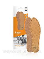 Устілка для взуття шкіряна KAPS PEKARI CORK
