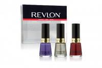 Revlon - Набор из 3-х лаков для ногтей Nail Enamel Mini Nail Polish Kit (Rock star+Gold coin+Ruby) - 3x7,5ml ( EDP70696 )