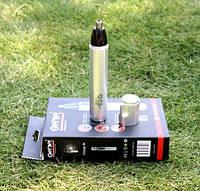 Триммер аккумуляторный  2в 1 для носа и ушей Gemei 3100, 2 насадки