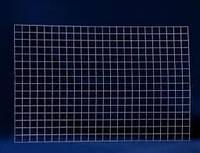 Металлическая торговая сетка 60/100см ячейка 10см БЕЛАЯ