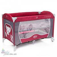 Манеж-кровать 4baby Vegas Red