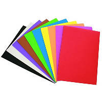 Бумага цветная  А4,8арк. двостор. НЕОН УП-200 (25) (С)