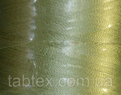 Нитка шелк для машинной вышивки embroidery 120den. №6115 3000 ярд