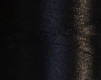 Нитка шелк/embroidery 120/2den.черный №D-244 3000ярд .