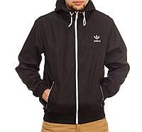 Ветровки Adidas,черная,магазин одежды