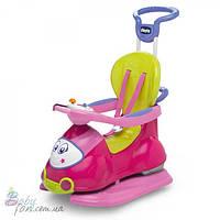 Автомобиль-качалка Chicco Quattro (4в1) Pink