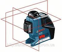 Нивелир лазерный линейный Bosch GLL 3-80 Р + Штатив BS 150
