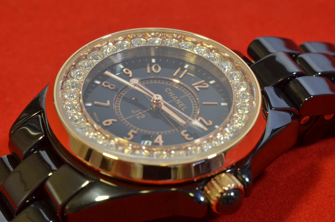 Копии женских часов Chanel - Часы Шанель керамика