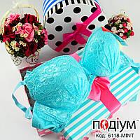 Женский кружевной бюстгальтер с push-up Mint (36/80В)