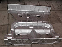 Панель заднего пола Таврия. Панель заднего днища 1102-5101042. Пол багажника ЗАЗ-1102.  Днище заднее ЗАЗ-1105
