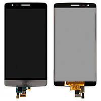 Дисплей (LCD) LG D724/ D722/ D725/ D728 G3 mini с сенсором серый оригинал