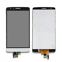 Дисплей (LCD) LG D724/ D722/ D725/ D728 G3 mini с сенсором белый оригинал
