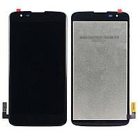 Дисплей (LCD) LG MS330 K7/ LS675 Tribute 5 с сенсором черный