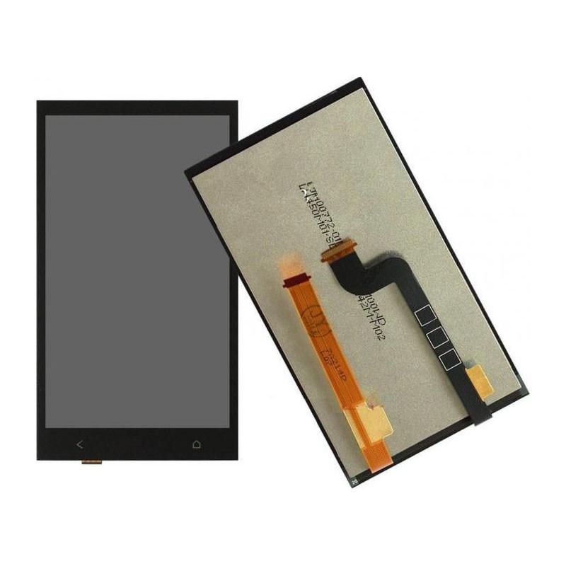 Дисплей (LCD) HTC 601 Desire/ 601 Dual Sim с сенсором черный