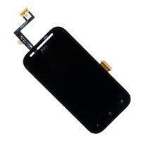 Дисплей (LCD) HTC T326e Desire SV с сенсором черный