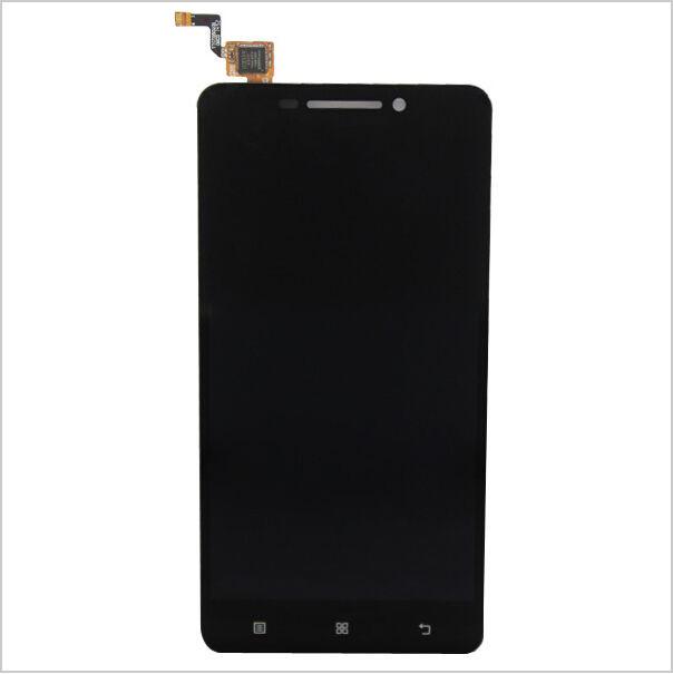 Дисплей (LCD) Lenovo A5000 с сенсором чёрный
