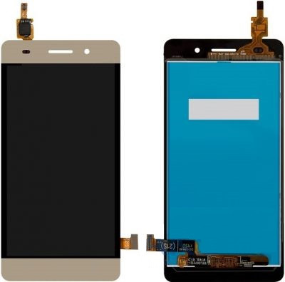 Дисплей (LCD) Huawei Honor 4C (CHM-U01)/ G Play mini с сенсором золото