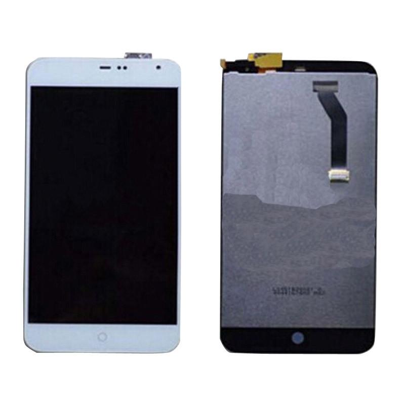 Дисплей (LCD) Meizu MX2 с сенсором белый