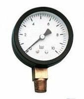 Манометр давления воды  16 бар вертикальный ANGO