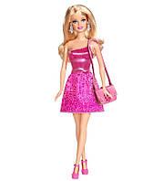Кукла Барби Блестящая в розовом платье, Barbie, Mattel, Розовый