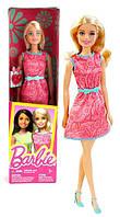 Кукла Барби с розовым кольцом-сердечком для девочки, Barbie, Mattel,