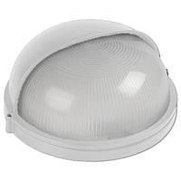 Светильник НПП1103 белый/круг п/сфера 100Вт IP44  ИЭК