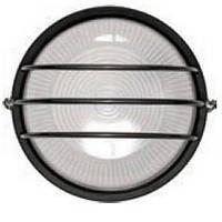 Светильник НПП1106 черный/круг сетка  100Вт IP54  ИЭК