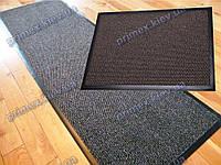 Ковер грязезащитный Стандарт 90х220см. цвет серый