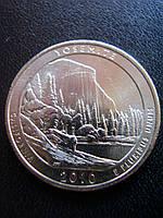 25 центов 2010 США Йосемити (Yosemite), фото 1