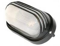 Светильник НПП1207 черный/овал ресничка 100Вт IP54  ИЭК