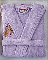 Детский халат ALTINBASAK фиолетовый 4-6 лет.