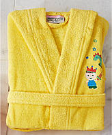 Детский халат ALTINBASAK жёлтый 4-6 лет.