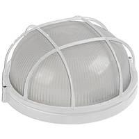Светильник НПП1302 белый/круг с реш.60Вт IP54 IEK